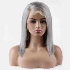 Spicyhair 180% density Hot Selling Popular bob wig green color Bodywave bob lace front wig