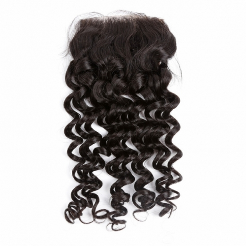 Spicyhair Tangle free 10A kinkycurly 4×4 lace closure